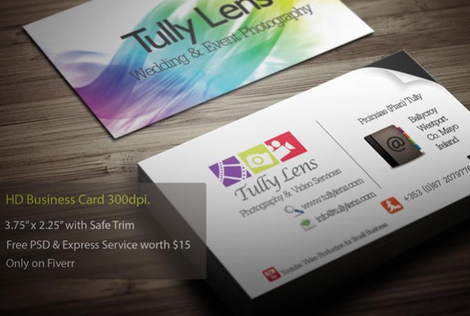 Do business card fiverr for Fiverr business cards