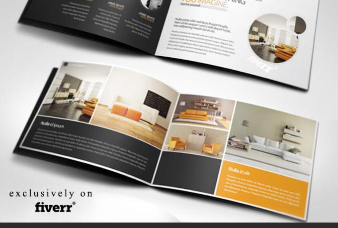 Design amazing corporate brochure fiverr for Amazing brochure designs
