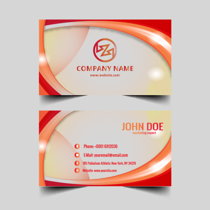 Design any attractive business card fiverr for Fiverr business cards
