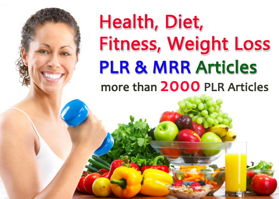 give you over 2000 PLR Articles on Health, Diet, Fi