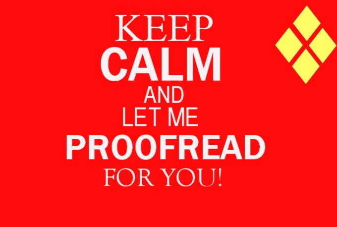 English proofread