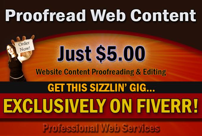 Proofreading website