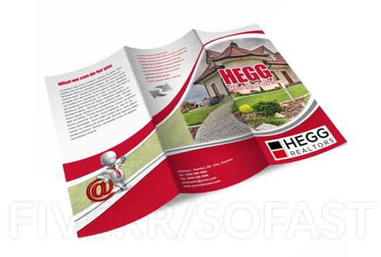 Design professional tri fold flyervistaprint read for Vistaprint flyer
