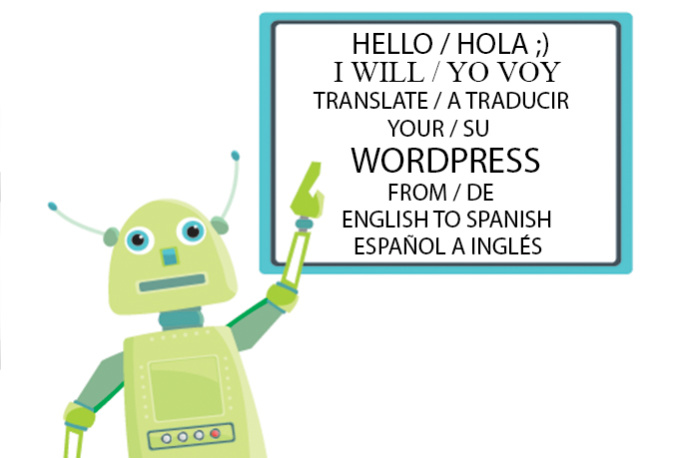 Translate your wordpress po file from english to sp for Translate my document to spanish