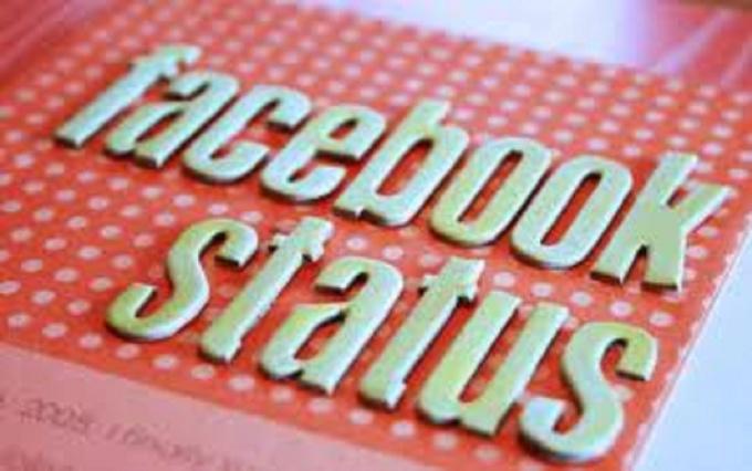 Facebook status for dating