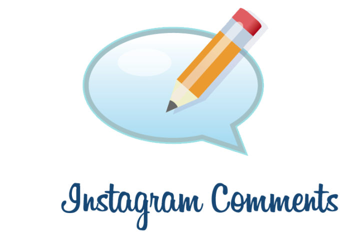 how to add comments to instagram