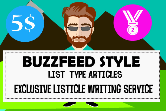 Type of article writing