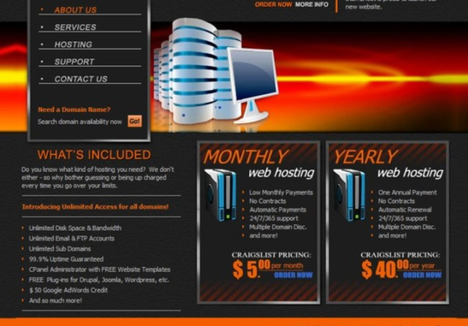give you a monthly unlimited hosting reseller account
