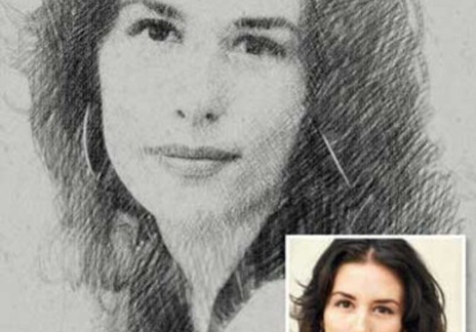 how to change a picture into a sketch