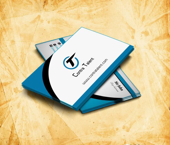 Make professional business card design fiverr for Fiverr business cards