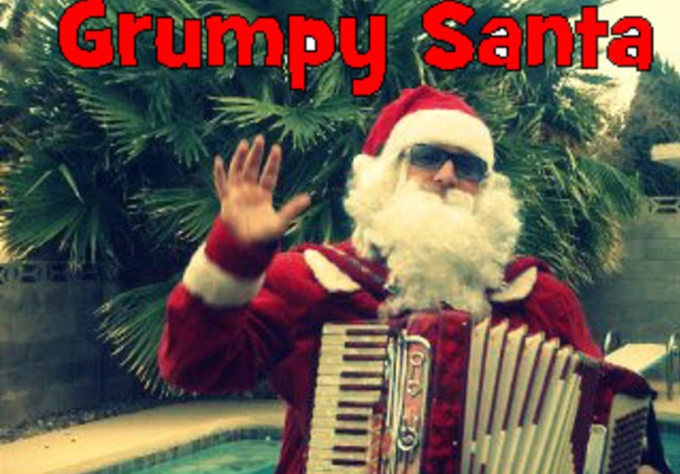 send you my very grumpy Christmas squeezagram