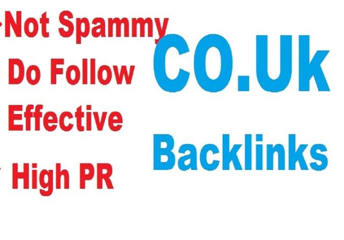 manually make 15 high pr dofollow co uk backlinks