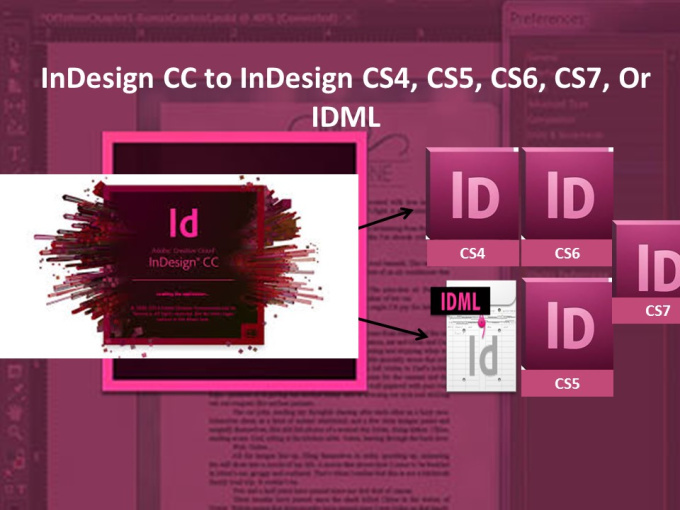 convert pdf to indesign cc