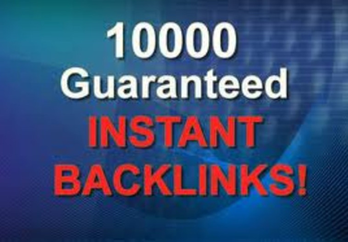 provide 10,000 Verified and Alive Backlinks Edu included to your site or any url