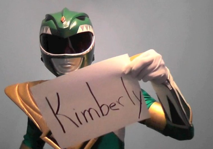 get the Green Power Ranger to say your personal message, birthday, congrats, or anything else, on video
