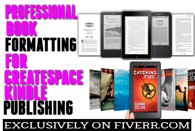 Kindle Book Cover Design Service : Format your document for createspace kindle and pr