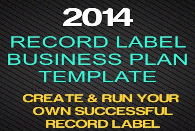 Record Label Business Record Label Business Plan
