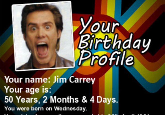 give you a complete birthday profile picture with your photo
