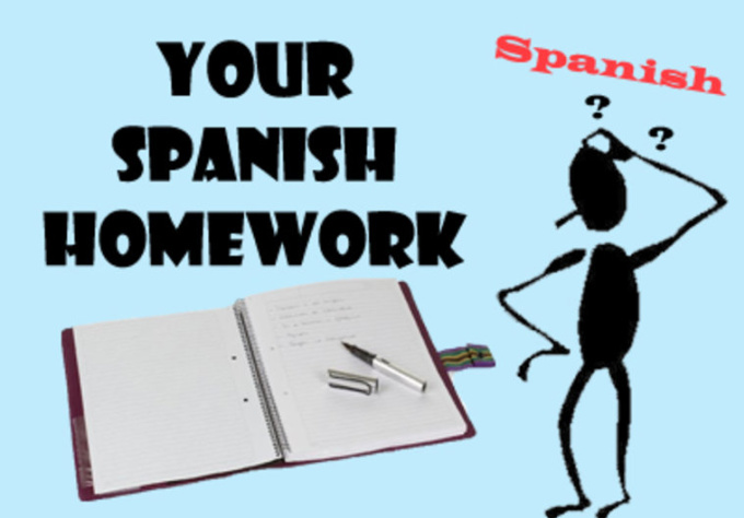 help me with my spanish homework
