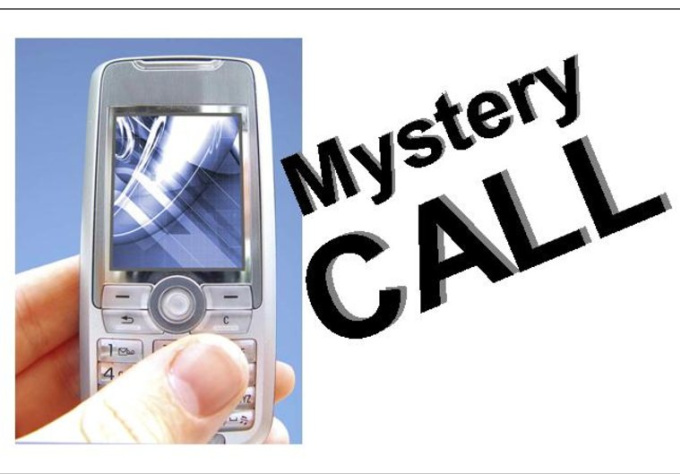 make a mystery call to your business to check for compliance issues