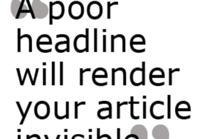 Creative dating headline examples