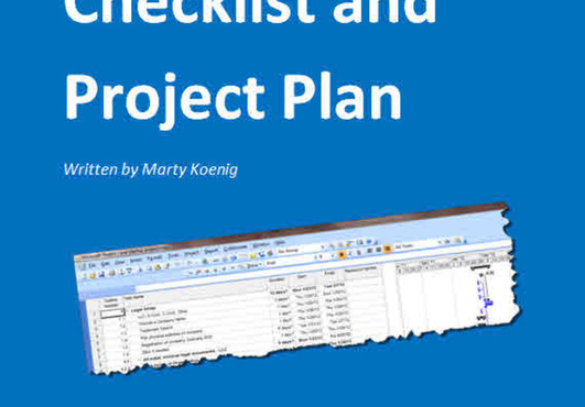 provide a startup checklist and project plan helping you start a business