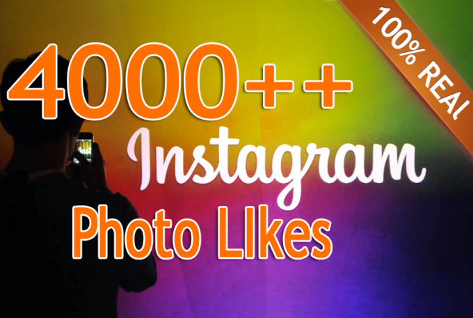 add 4000 Instagram PHOTO likes
