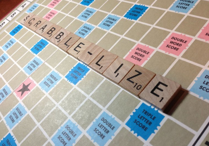 make personal Scrabblelized video message