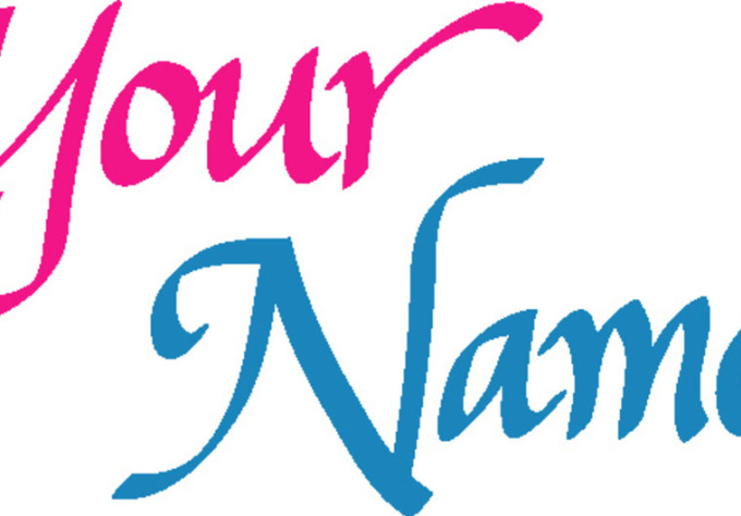 Hand write your name in digital calligraphy fiverr