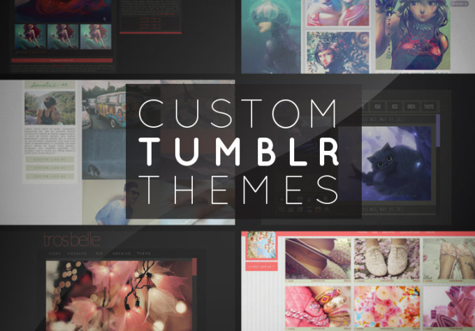 Custom homepage thesis theme