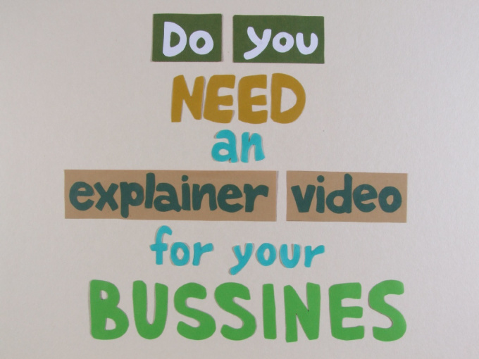 make an explainer stop motion video