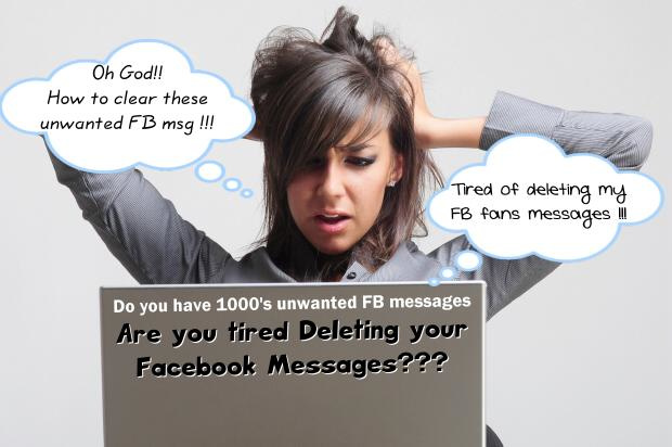 how to delete your own message on facebook