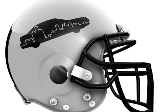 design a cool helmet for your fantasy or real footb