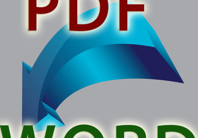 how to change pdf file into word file