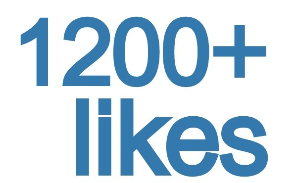 give you 1200+ REAL facebook likes to your fanpage within 12 hours