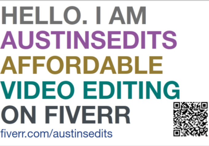 edit you a video on fiverr