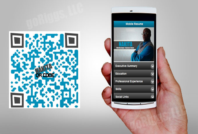 create A QR Mobile Resume Within 24 Hours