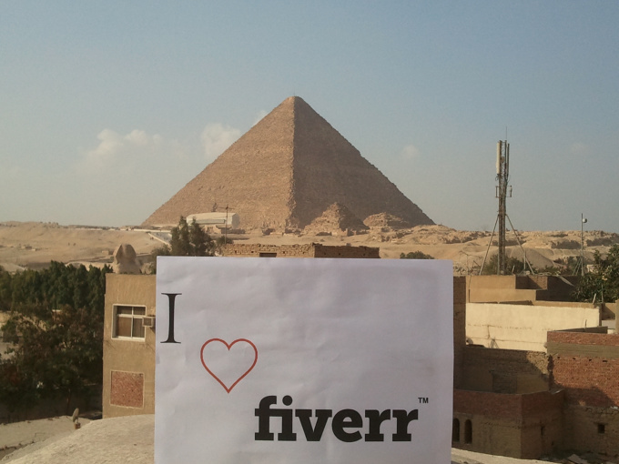 take a personalized photo,Pyramid of Giza, Egypt