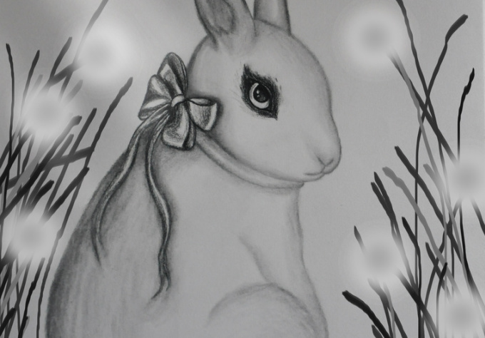 make a personalized sketch or painting of your pet