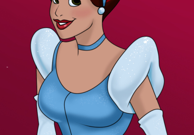 draw you as a Disney princess, hero, or villian