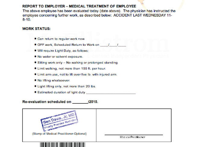 Give You Doctor Note Templates To Skip Work Or Scho
