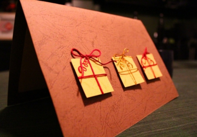 make and send you a custom Christmas card with envelope