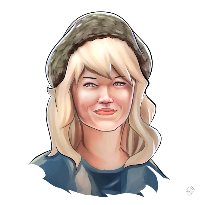 draw your face in Digital Painting Style