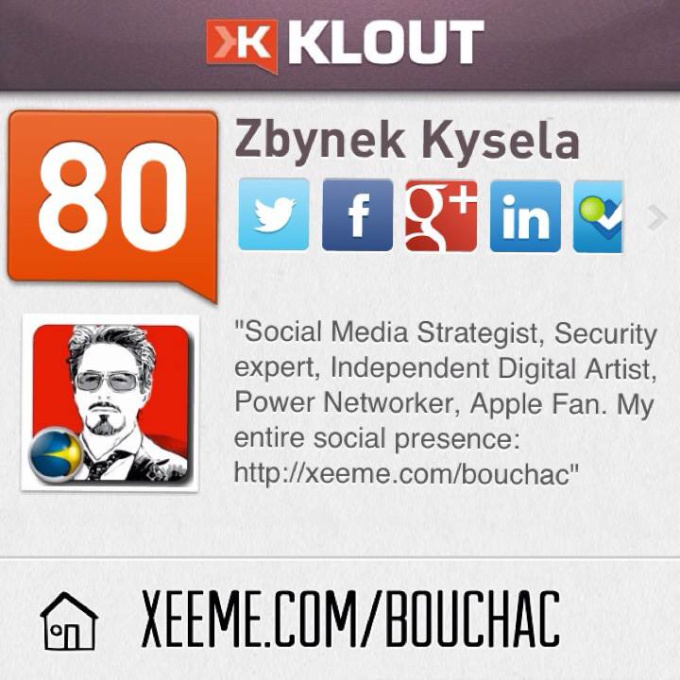 +k up to 5 of your topics from my TOP rated Klout account