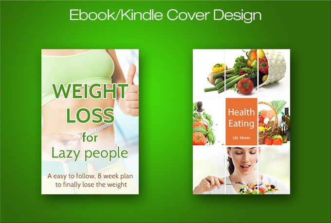 Kindle Book Cover Design Service : Create a professional and effective ebook kindle cover