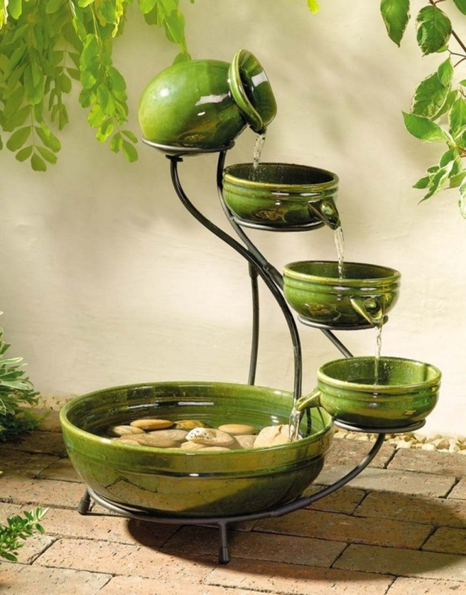 Do feng shui for your house to improve wealth health cash for Water feature feng shui
