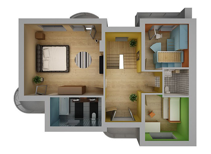 Make you a 3d model of your dream house fiverr for Dream house 3d