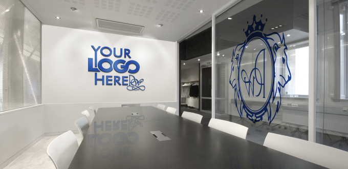 Create Office Interiors With Your Logo Fiverr