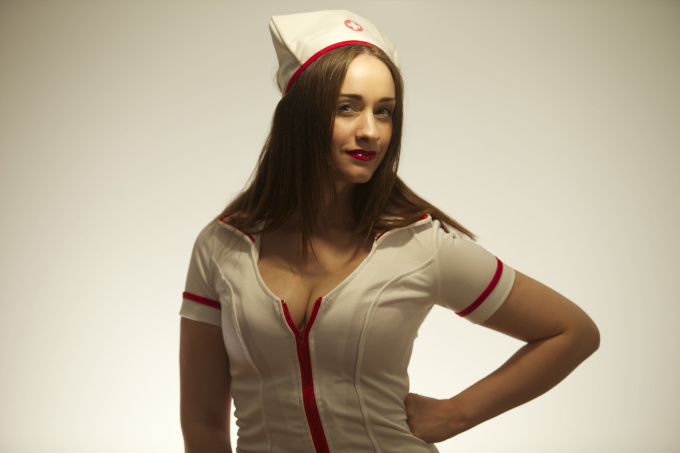 Sing Happy Birthday In My Sexy Nurse Costume-3780