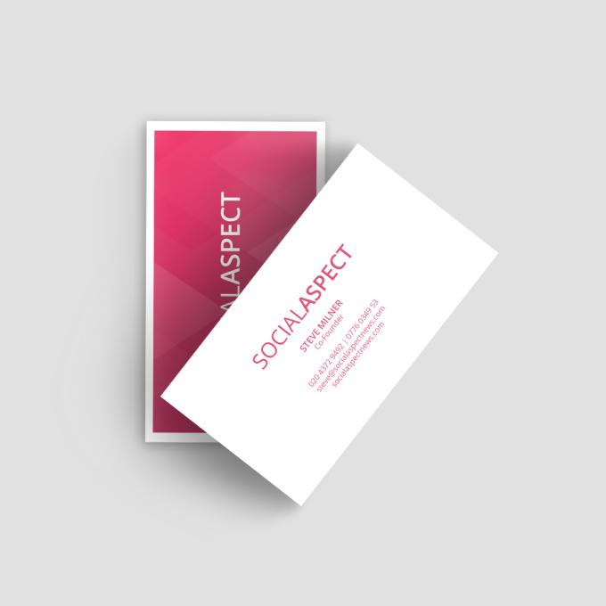 Design business card just 24 hours fiverr for Fiverr business cards